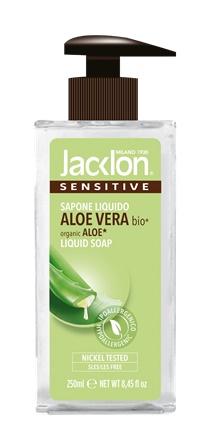 Sapone liquido aloe vera biologica 250 ml