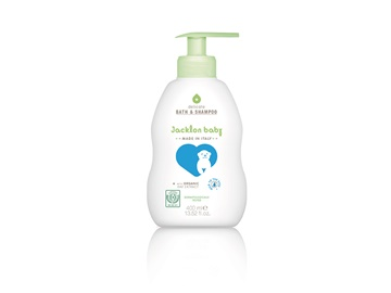 Jacklon Baby Bath & Shampoo 400ml