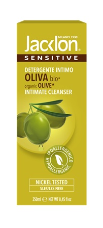 Intimate cleanser organic olive oil 250 ml